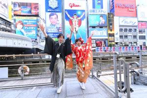 Pre-wedding photo in osaka Japan