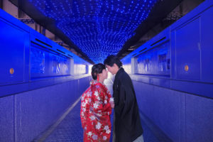 Pre-wedding photo in osaka Japan